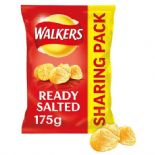 Walkers Ready Salted Sharing Bag Crisps 175g